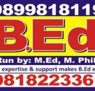 b ed degree  courses 9899818119 for sale  Arya Nagar Industrial Area