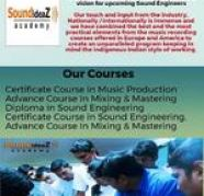 Certified Courses in Sound Engineering for sale  Navi Mumbai