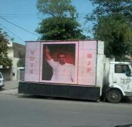 Led screen mobile van 8587088197, used for sale  India