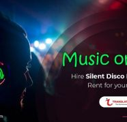 Silent Party Headphones in Bangalore on Rent Best Price for sale  India