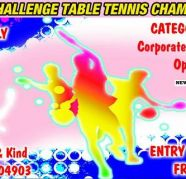 Upcoming Corporate Table Tennis Tournament for sale  India