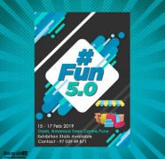 Fun 50 at Pune  BookMyStall for sale  India