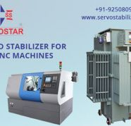 Servo voltage Stabilizer for CNC Machine for sale  India