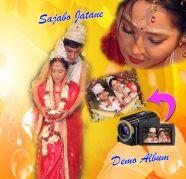 Bridal Makeup,Tattwa,Video & Still (KARIZMA, CANVERA) ALBUM for sale  Barahanagar