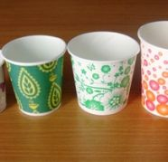 Used, Manufacturer & suppliers of Paper disposable cups & glass for sale  Abul Fazal Enclave Part I