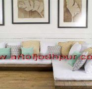 furniture online store L shape sofa set, used for sale  Adarsh