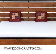 Rose wood Queen size Double Bed Designed by room crafts for sale  Gandhi Colony
