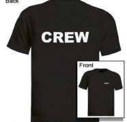 TEXT Printed T-Shirts, CREW T-Shirts, TEAM T-Shirts for sale  Rajouri Garden