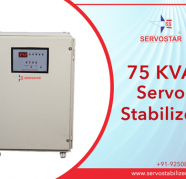 3 Phase 75 KVA Servo Voltage Stabilizer in India, used for sale  India