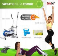 Sweat & Slim Combo Offer! 5 in 1 at just Rs. 10,687, used for sale  India