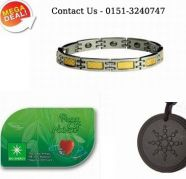 Bio Magnetic Bracelet & scalar energy pendant &Energy card for sale  India