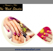Acrylic Nail Extensions Monas Nail Art Studio Vadodara for sale  India