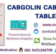 Cabgolin 05mg Tablet   Cabergoline Tablet Price in India for sale  India