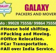 Galaxy packers and movers in coorg 9902875558 for sale  India