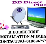 D D FREE DISH ANTENNA INSTALLATION for sale  India